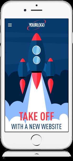 Thrive Digital get a new website design - shown on Mobile